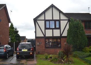 Thumbnail 3 bed semi-detached house for sale in Ranworth Close, Westbury Park, Newcastle