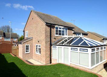 Thumbnail 3 bed semi-detached house for sale in Kings Meadow, Kedington, Haverhill