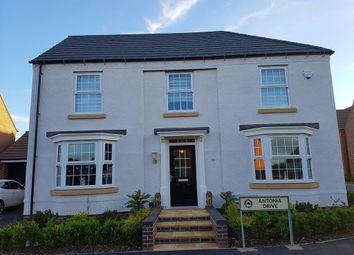 Thumbnail 4 bedroom detached house for sale in Antonia Drive, Hucknall, Nottingham