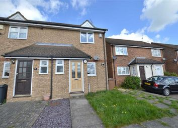 Thumbnail 2 bed end terrace house to rent in Hayfield, Stevenage, Herts