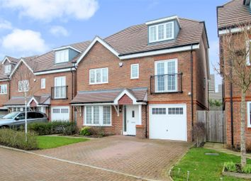 Thumbnail 5 bed detached house for sale in Aberdeen Way, Knaphill, Woking