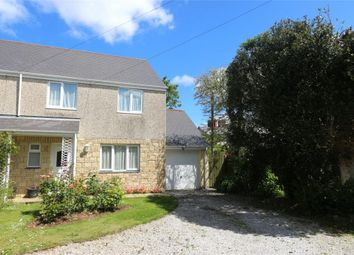 Thumbnail 3 bed semi-detached house for sale in The Hollies, Trerise Road, Camborne