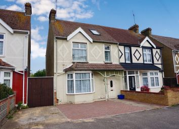 Thumbnail 4 bed semi-detached house for sale in 195 Sturdee Avenue, Kent