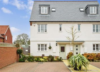 Thumbnail 3 bed town house for sale in Samuel Mortimer Close, Fareham, Hampshire
