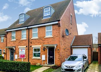 3 bed semi-detached house for sale in Hathersage Close, Grantham NG31