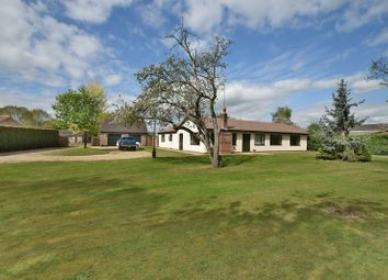 Thumbnail 4 bed detached bungalow for sale in Wigsley Road, Thorney, Newark