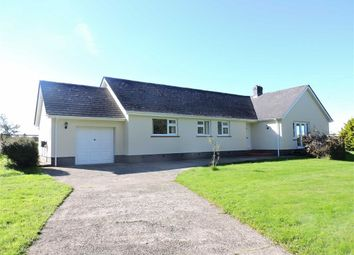 Thumbnail 3 bed detached bungalow for sale in Wolfscastle, Haverfordwest
