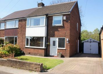 Thumbnail 3 bed semi-detached house for sale in Lea Gate Close, Bradshaw, Bolton