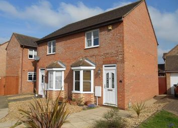 Thumbnail 2 bed end terrace house for sale in Odin Close, Bedford, Bedfordshire