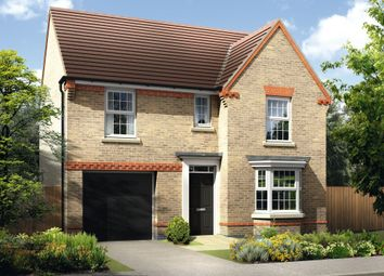 "Thumbnail 4 bed detached house for sale in ""Finsbury"" at Swanlow Lane, Winsford"
