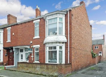 Thumbnail 3 bedroom flat for sale in Crofton Street, South Shields