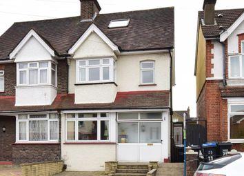 Thumbnail 4 bed semi-detached house for sale in Godson Road, Waddon, Croydon, Surrey