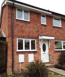 Thumbnail 2 bedroom end terrace house to rent in Fieldfare Close, Weymouth
