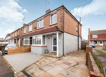 Thumbnail 3 bed semi-detached house for sale in Eastwood Road, Bexhill-On-Sea