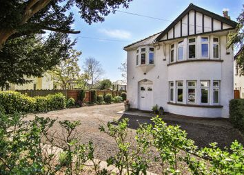 Thumbnail 4 bed detached house for sale in Hollybush Road, Cyncoed, Cardiff