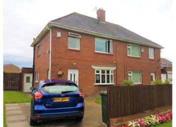 Thumbnail 3 bed semi-detached house for sale in Craster Avenue, Newcastle Upon Tyne