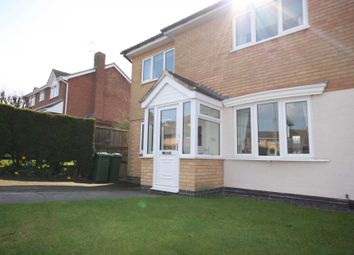 Thumbnail 3 bedroom semi-detached house for sale in Somerset Drive, Glenfield, Leicester
