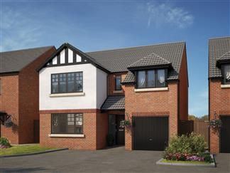 Thumbnail 4 bed detached house for sale in Earsdon View, Off Earsdon Road, Shiremoor