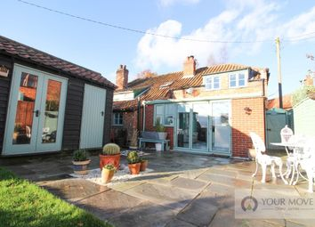 Thumbnail 2 bed semi-detached house for sale in Bergh Apton Road, Mundham, Norwich