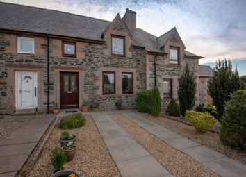 Thumbnail 2 bed terraced house for sale in Parnassus Gardens, Fyvie, Aberdeenshire