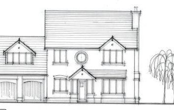 Thumbnail 4 bed detached house for sale in Knockin, Oswestry
