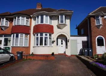 Thumbnail 3 bedroom semi-detached house for sale in Yateley Crescent, Birmingham