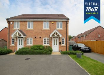 Thumbnail 2 bed semi-detached house for sale in Skitteridge Wood Road, Derby