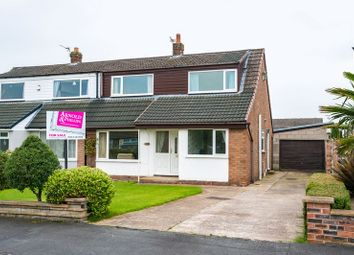 Thumbnail 3 bed semi-detached house for sale in The Hawthorns, Eccleston, Chorley