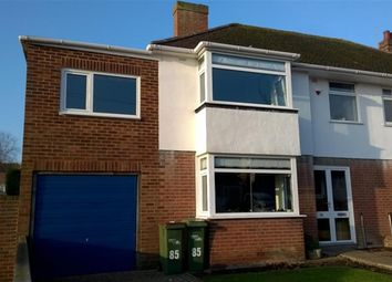 Thumbnail 4 bed semi-detached house for sale in Dolphins Road, Folkestone, Kent