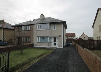 Thumbnail 3 bed semi-detached house for sale in High Road, Saltcoats, Ayrshire