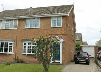 Thumbnail 3 bed semi-detached house for sale in Barlow Close, Hunters Hill, Guisborough