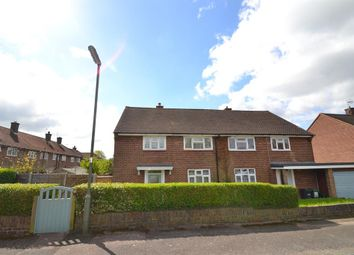 Thumbnail 3 bed semi-detached house for sale in Mansfield Drive, Merstham, Surrey