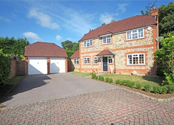 Thumbnail 4 bed detached house for sale in Heywood Drive, Bagshot, Surrey