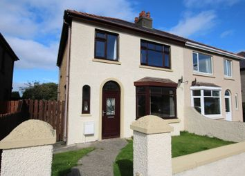 Thumbnail 3 bed semi-detached house for sale in Beaumont Road, Ramsey, Isle Of Man