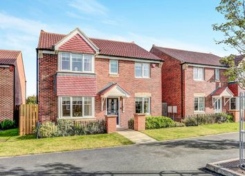 Thumbnail 4 bed detached house for sale in Embleton Walk, Ashington