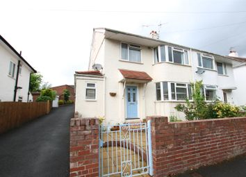 Thumbnail 4 bed semi-detached house for sale in Buckerell Avenue, St Leonards, Exeter
