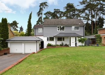 Thumbnail 4 bedroom detached house for sale in Azalea Way, Camberley, Surrey