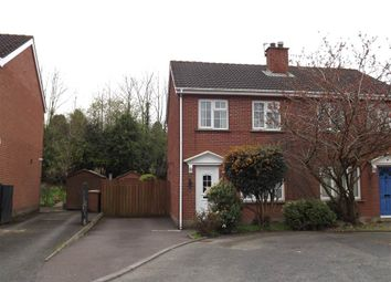 Thumbnail 3 bed semi-detached house to rent in 13, Berkley Court, Belfast
