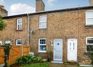 Thumbnail 2 bed terraced house to rent in Dover Road, Walmer, Deal