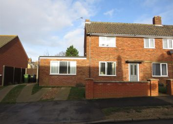 Thumbnail 3 bed semi-detached house for sale in Melton Drive, Hunstanton