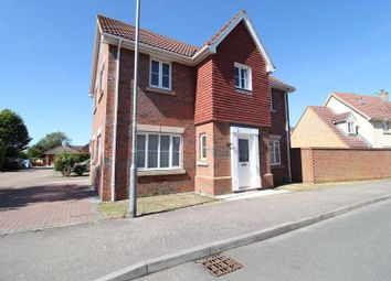 Thumbnail 4 bed detached house for sale in Signal Close, Henlow