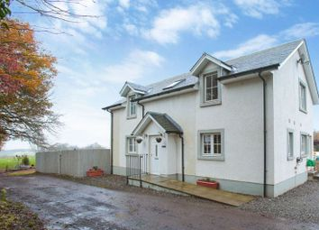 Thumbnail 3 bed detached house for sale in Glebe Road, Muthill