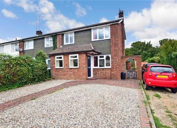Thumbnail 3 bed end terrace house for sale in Crow Green Lane, Pilgrims Hatch, Brentwood, Essex