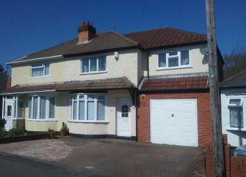 Thumbnail 4 bed semi-detached house for sale in Uplands Road, Willenhall, Wolverhampton