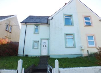 Thumbnail 2 bedroom semi-detached house for sale in Nubian Crescent, Hakin, Milford Haven