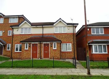 Thumbnail 2 bed semi-detached house to rent in Albert Road, Manchester, Manchester