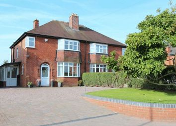 Thumbnail 3 bed semi-detached house for sale in Clive Road, Market Drayton