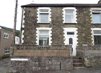 Thumbnail 3 bed end terrace house to rent in Castle Ivor Street, Hopkinstown, Pontypridd