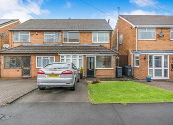 Thumbnail 3 bed semi-detached house for sale in Hartswell Drive, Kings Heath, Birmingham, West Midlands