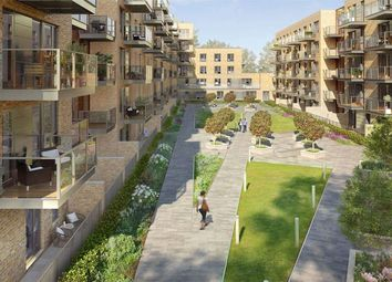 Thumbnail 1 bed flat for sale in Smithfield Square, High Street, London